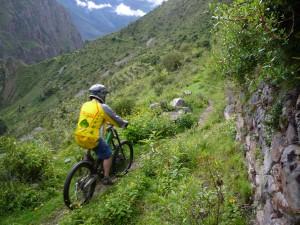Biking Pumamarka, Inca Avalanche, Inca Downhill