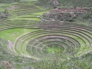 The Incan rings at Moray