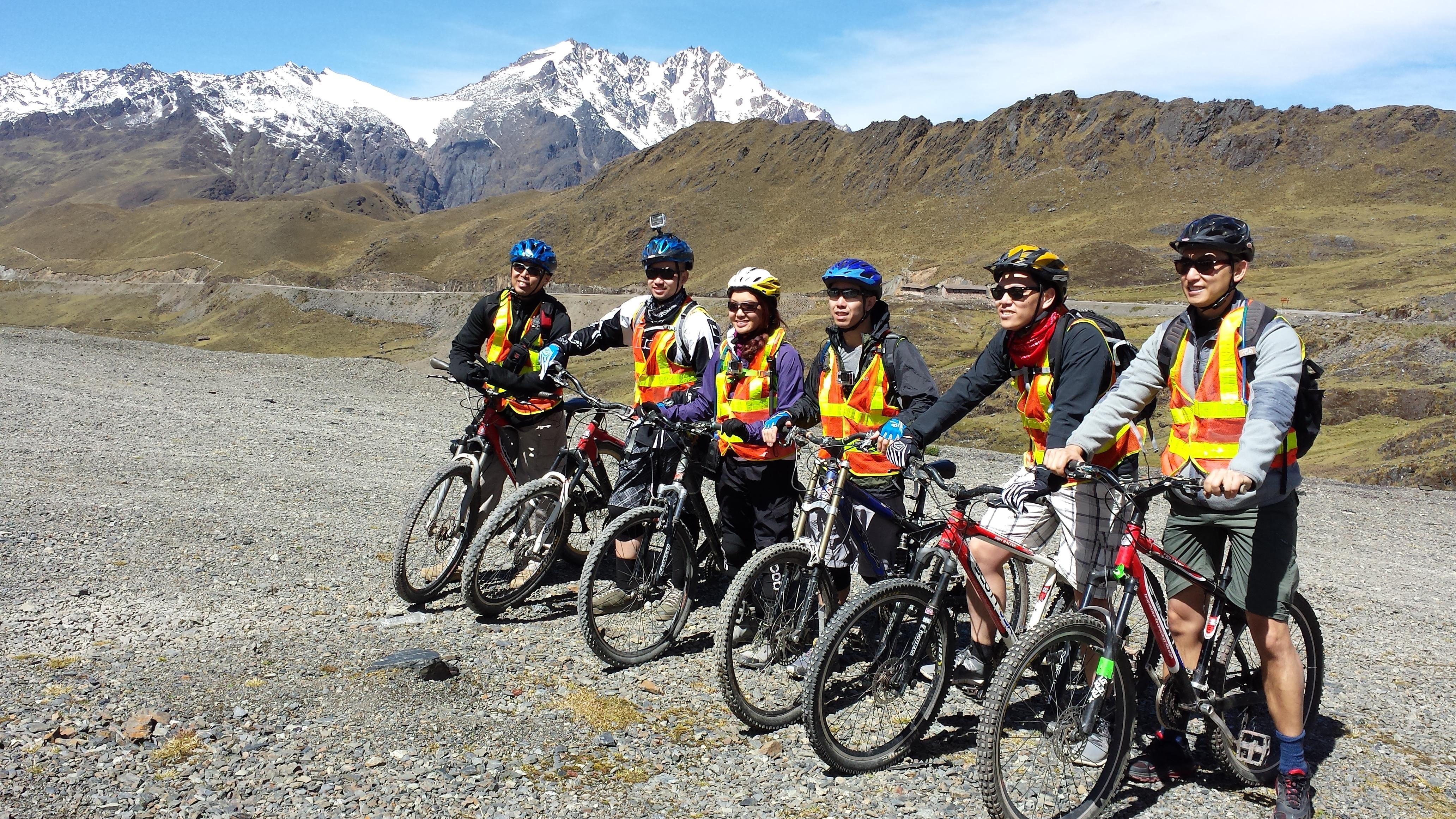 Machu Picchu Mountain Bike Tour Bike to Machu Picchu Mountain