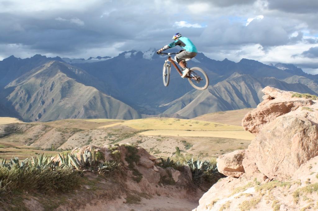mountainbiking in peru
