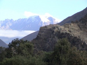 The Inca fortress of Ollantaytambo