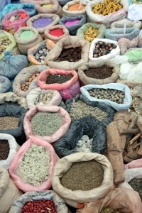 aHerbs and spices Mercado la Magdalena 200x300 Culinary Tours