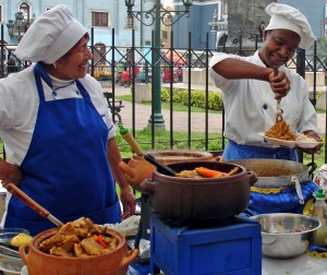 aStreet scene in Lima 300x252 Culinary Tours